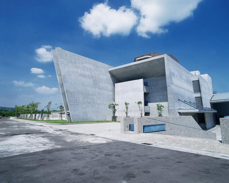 十三行博物館主建築外觀