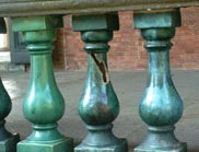 綠釉花瓶小圍籬
