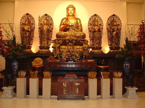 緣道觀音廟佛像
