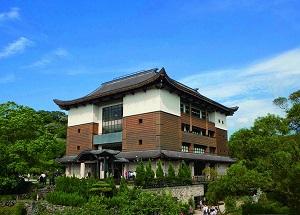 緣道觀音廟主建築採仿唐式建築風格照
