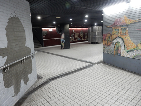 東門地下道瓷磚藝術畫圖1