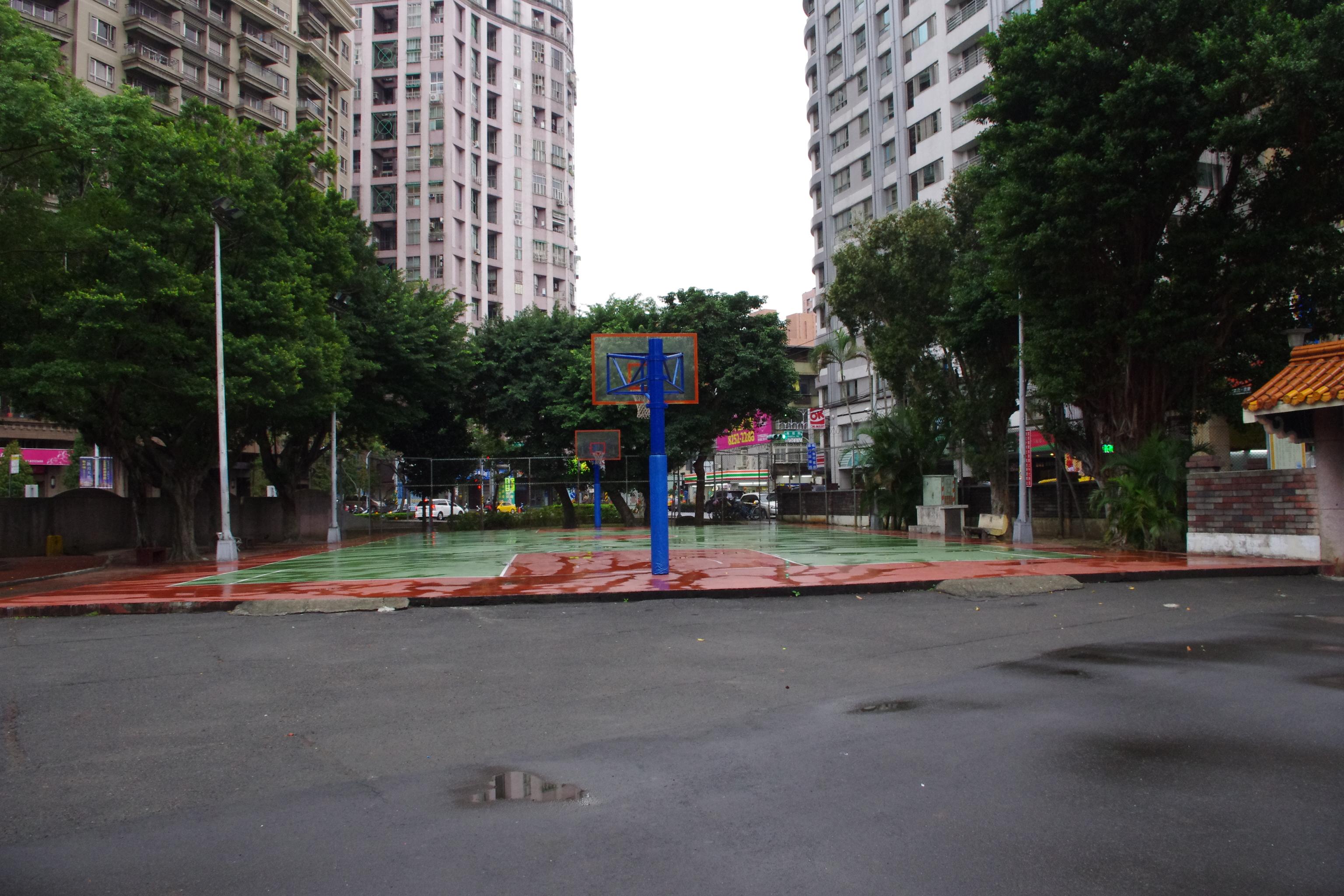 板橋中山公園籃球場