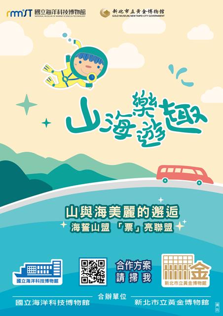 館島之戀山海樂遊趣海報