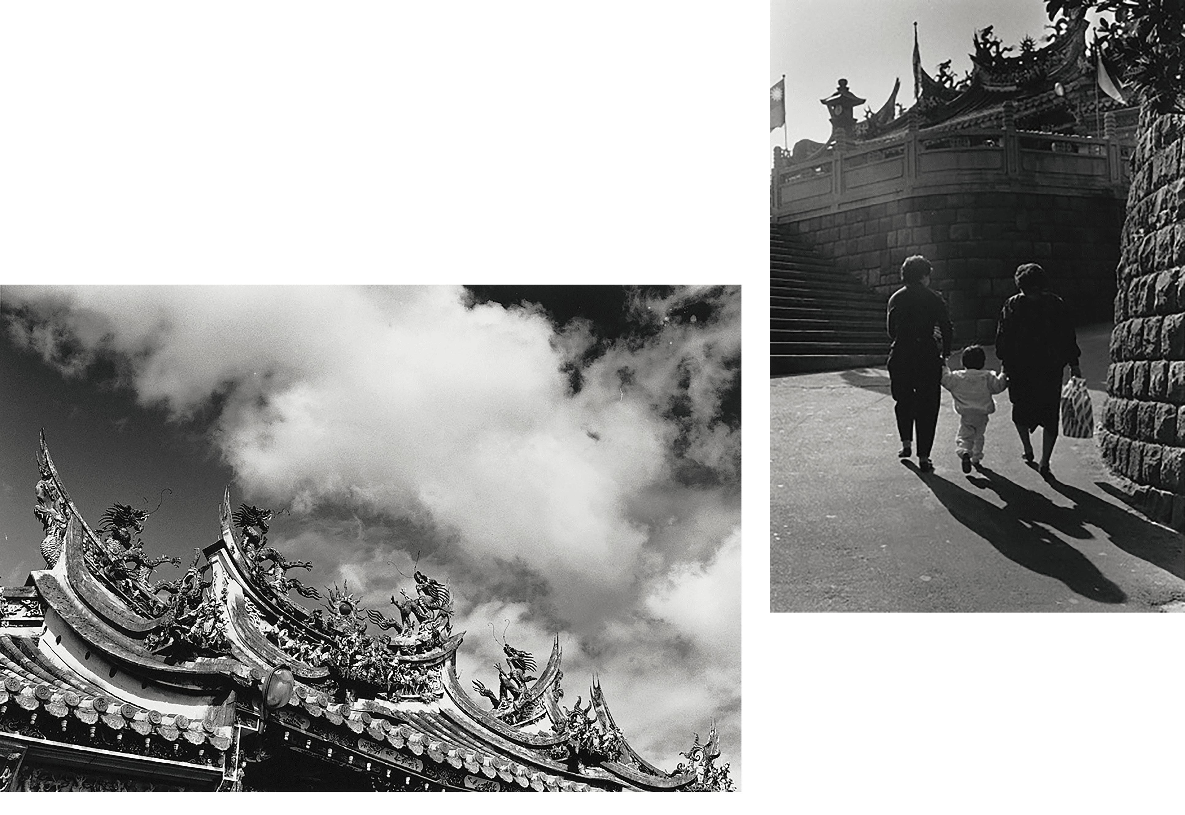1984年(左)、1989年(右)之清水祖師廟