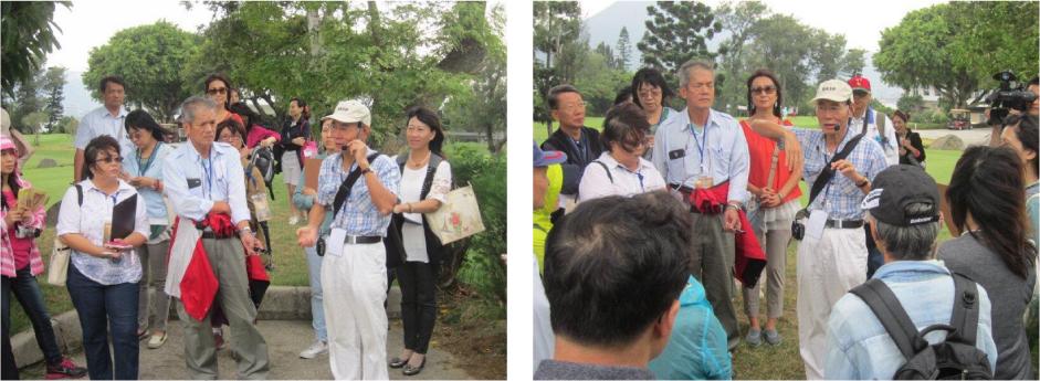 國際研討會邀請張建隆老師為清法戰爭文化路徑現場導覽