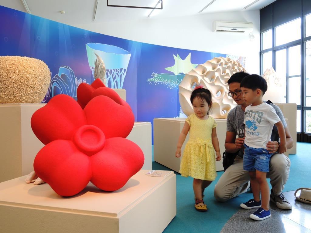 免費兒童陶瓷展底加啦 特製簡介還能變紙風車