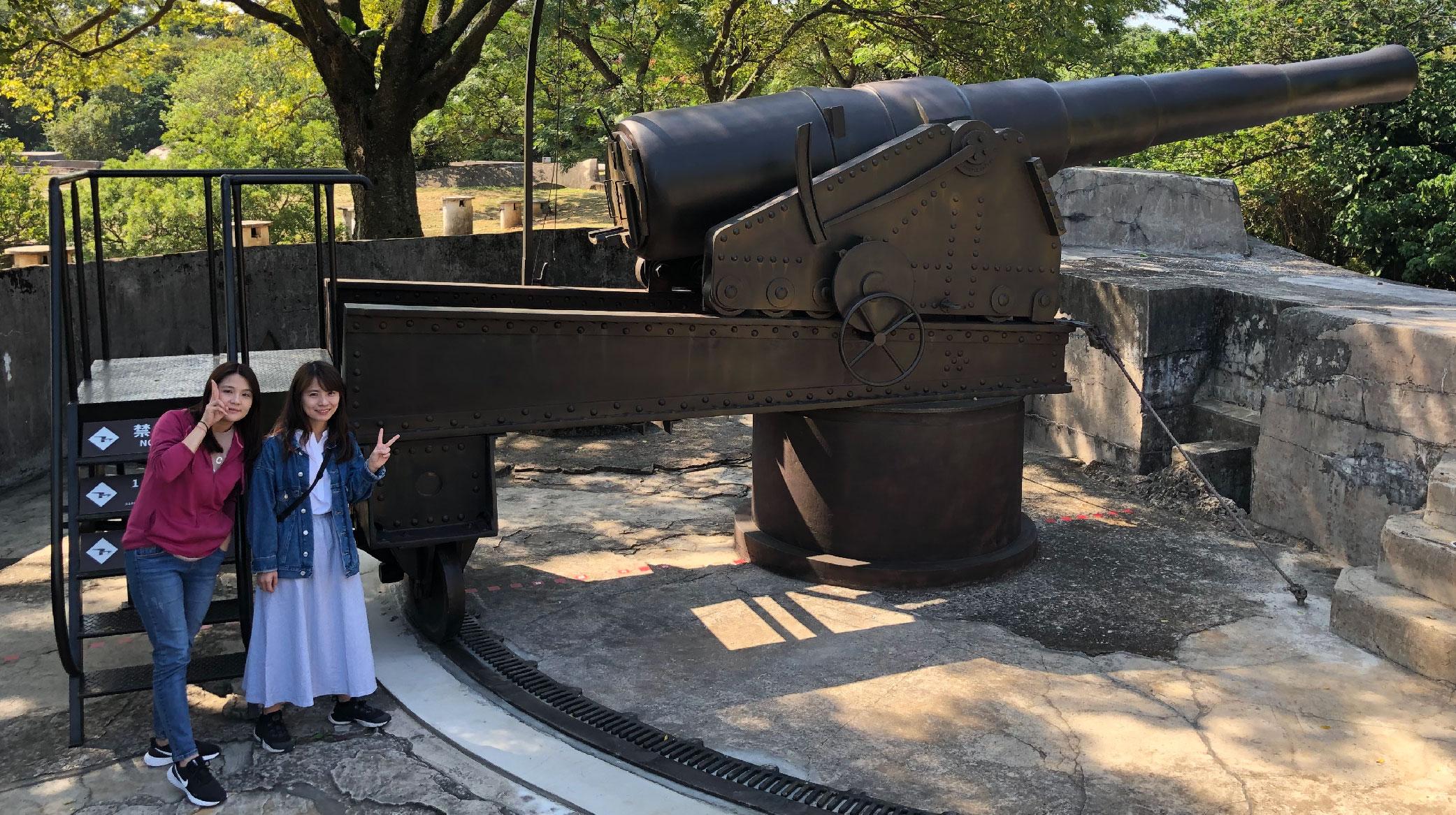 7米巨砲霸氣外露