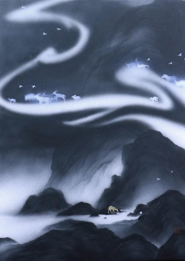 藝術家呂浩維、楊崇廉創作聯展 物我合一的自然美學