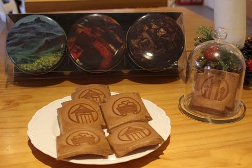 典藏礦山─黃金博物館瓦煎餅禮盒(暫無庫存)