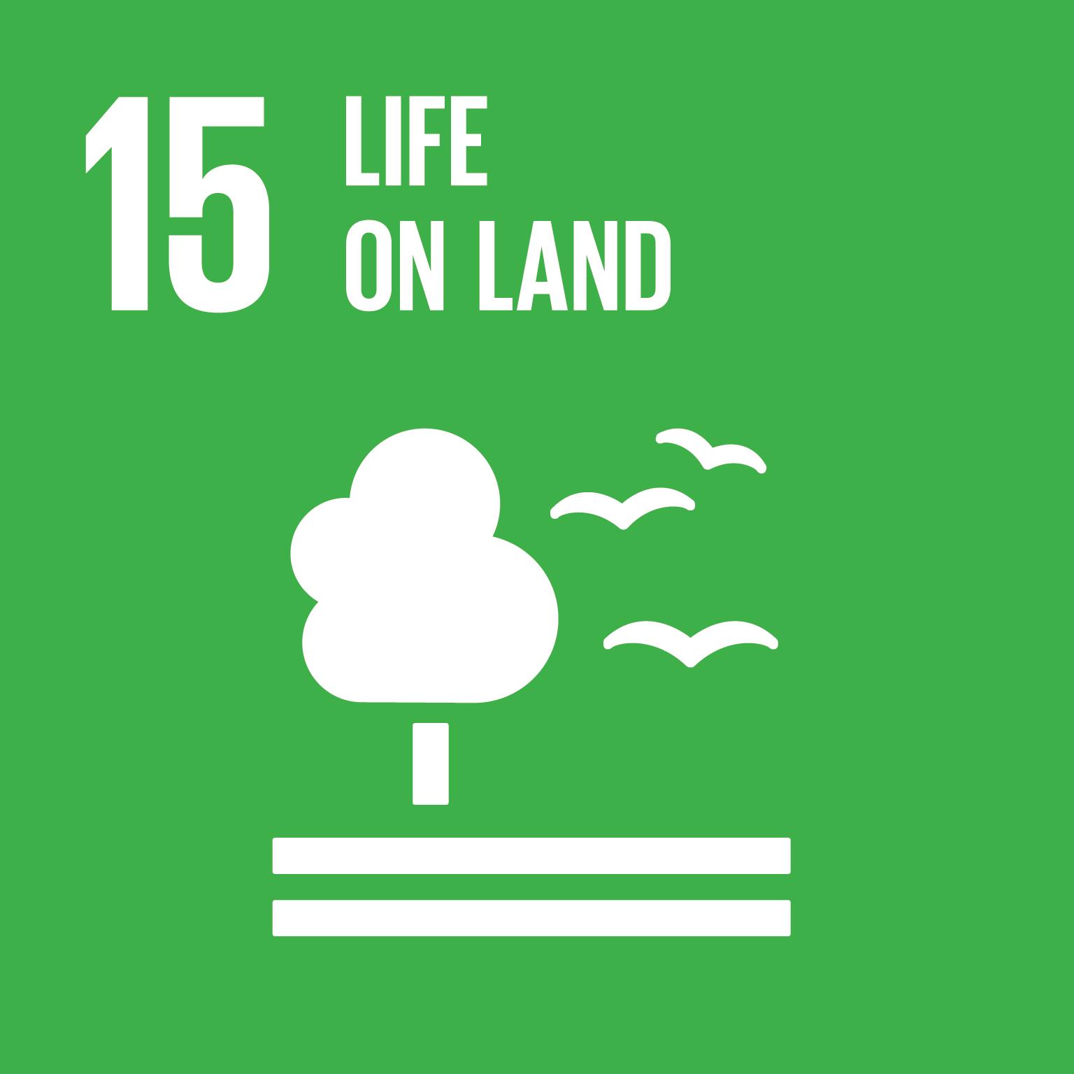 保護、維護及促進領地生態系統的永續使用,永續的管理森林,對抗沙漠化,終止及逆轉土地劣化,並遏止生物多樣性的喪失