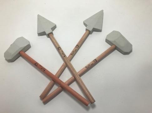 石器筆-石鏃石斧