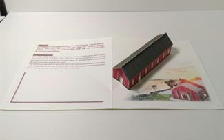 海關碼頭立體卡片