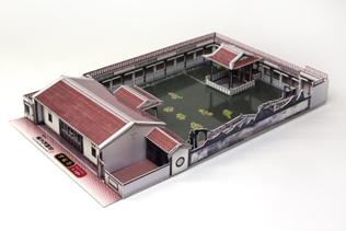 方鑑齋建築模型卡